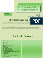 USF Goes Green in a Big Way