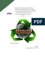 Gestion de Residuos Ciencias de La Tierra