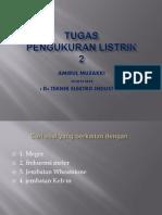 Contoh Soal Pengukuran Listrik 2