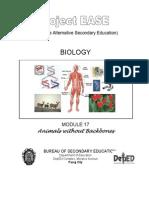 Biology M17 Animals Without Backbones