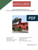 B.el.Ed. Prospectus-2014 New