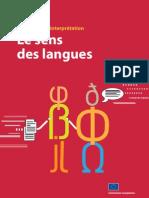 Le Sens Des Langues