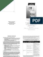 N2216_N2226 Flapper Less Instructions