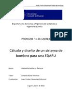 Cálculo y diseño de un sistema de bombeo para una EDARU.pdf