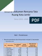 111744466 Resume Dokumen Rencana Tata Ruang Kota Jambi Bab I VIII Recovered