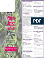 Paris Jazz Festival 2014