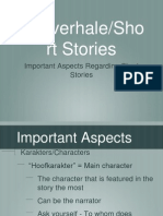 Analysing Literature