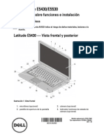 DELL Latitude-e5430 Setup Guide Es-mx