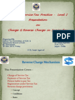 Reverse Charge on Service Tax - India