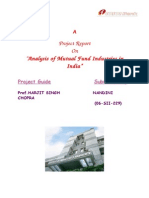 Analysis of Mutual Fund Industries in India