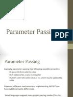 Parameter Passing Presentation