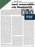 Femei Remarcabile Din Istoria Romanilor