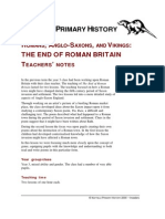 The End of Roman Britain Teachers Notes134