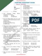 Postal Asst Previous Paper1