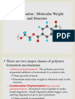 Lecture 2.1- Molecular Weight Structure