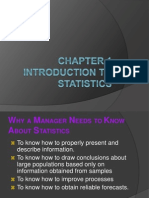 Chapter 1 - Introduction to Statistics (2014-2015)