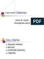 Payment Gateway Layout Plan