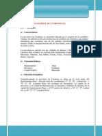 Informacion de Carabaya
