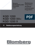 Fridge manual KQD 1250 X A+
