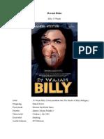 Resensi Buku Billy 24 Wajah