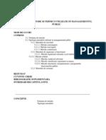 Metode Si Tehnici Utilizate in Managementul Public