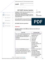 SAP ABAP Interview Questions Part 1 _ SAP Interview Questions and Answers