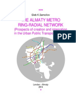 THE ALMATY METRO RING-RADIAL NETWORK / by G.K.Samoilov