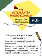 ACTIVITATEA de Comunicare-promovare