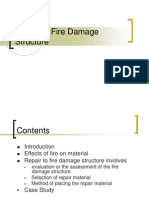 Repair of Fire Damage Structure