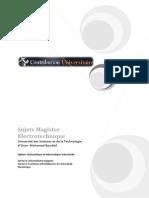 USTO-ELT-Automatique Et Informatique Industrielle