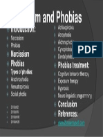 204217562 Narcissism and Phobias Poster Pptx