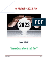 The Awaited Mahdi in 2023