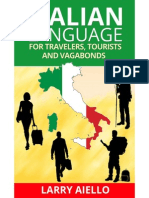 Italian Language for Travelers, Tourists and Vagabonds