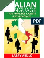 Italian Language for Travelers, Tourists and Vagabonds