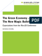 Green Economy Magic Bullet