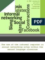 Informal Networking