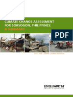 Sorsogon Climate Change Assessment