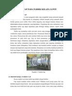 Turbin Uap Pada Pabrik Kelapa Sawit