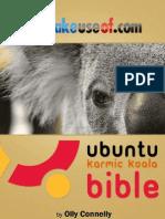 MakeUseOf.com - Ubuntu Karmic Koala Bible