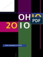 Ohio University Press 2010 Catalog