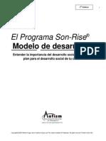 Modelo de Desarrollo Del Programa Son-Rise 2[1]