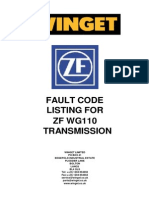 Zf Wg110 Transmission Fault Codes