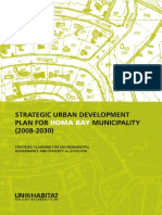 Strategic Urban Development Plan for Homa Bay Municipality (2008-2030)