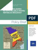 Federalizarea Transnistriei