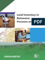 Land Inventory in Botswana