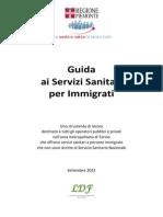 Guida Ai Servizi Sanitari Per Immigrati 1