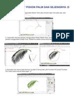 Tutorial Membuat Pohon Palm