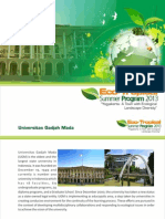 Booklet - Eco Tropical Summer Program
