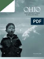 Ohio University Press Fall-Winter 2009 Catalog