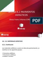 3.2-. Obras Viales Urbanas (CRO101) Pavimentos Asfalticos - Materiales Asfalticos